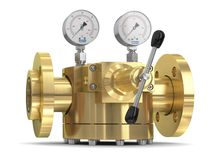 WITT Domdruckregler für konstanten Gasdruck.